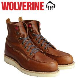 【最大600円OFFクーポン】 ウルヴァリン WOLVERINE ブーツ メンズ LOUIS WEDGE BOOT Dワイズ W40411 ブラウン ワークブーツ