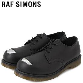 【最大2000円OFFクーポン】 ドクターマーチン Dr.Martens ラフシモンズ RAF SIMONS 3ホール シューズ メンズ コラボ CUT OUT STEEL TOES SHOE ブラック 黒 192-936D [11/20 新入荷]