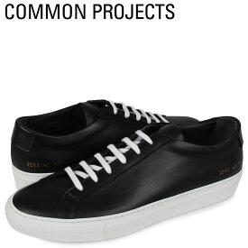 【最大2000円OFFクーポン】 コモンプロジェクト Common Projects アキレス ロー スニーカー メンズ ACHILLES LOW WHITE SOLE ブラック 黒 2253-7547