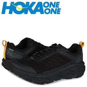 【最大2000円OFFクーポン】 HOKA ONE ONE ホカオネオネ チャレンジャー スニーカー メンズ 防水 厚底 CHALLENGER ATR 5 GTX ブラック 黒 1111990 [予約 5/29 新入荷]