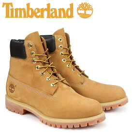 ティンバーランド Timberland ブーツ メンズ MENS 6-INCH PREMIUM WATERPROOF BOOTS 6インチ イエロー 10061 [10月 追加入荷]