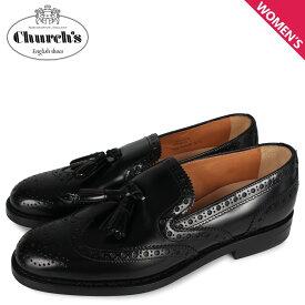 チャーチ Churchs タッセル ローファー レディース TAMARYN 2 ブラック 黒 DS0038