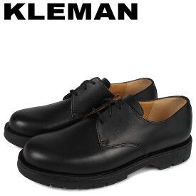 KLEMAN クレマン シューズ プレーントゥ メンズ DORMANCE P1 ブラック 黒