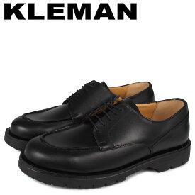 【最大1000円OFFクーポン】 KLEMAN クレマン シューズ Uチップ メンズ FRODAN ブラック 黒