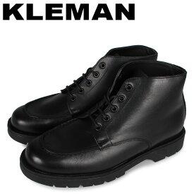 【最大1000円OFFクーポン】 クレマン KLEMAN 靴 ブーツ アンクルブーツ メンズ 厚底 OXAL KP ブラック 黒