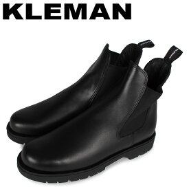 【最大1000円OFFクーポン】 KLEMAN クレマン ブーツ サイドゴアブーツ チェルシー メンズ TONNANT ブラック 黒