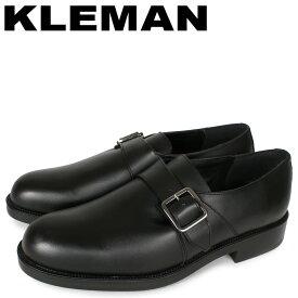KLEMAN クレマン モンクストラップシューズ ビジネスシューズ メンズ ODESSA ブラック 黒 KA28102