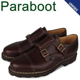 パラブーツ PARABOOT ウィリアム 靴 シューズ ダブルモンクシューズ メンズ レディース WILLIAM ブラウン 981413