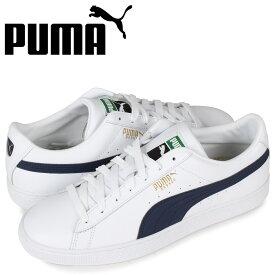 PUMA プーマ バスケット クラシック スニーカー メンズ BASKET CLASSIC 21 ホワイト 白 374923-05