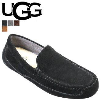 UGG UGG Alder slip-on Shearling Sheepskin ALDER men's 2014 SPRING new 1003419 black [genuine]