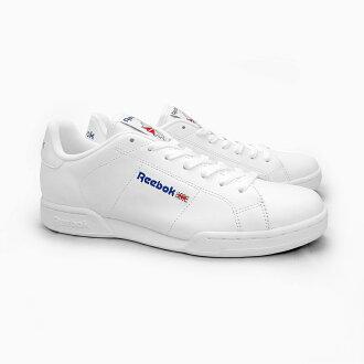 szeroki zasięg za kilka dni wykwintny design Reebok men sneakers REEBOK CLASSIC NPC II WHITE/WHITE 1354 Reebok classical  music NPC 2 leather white