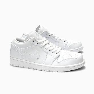 separation shoes ad62c e37de NIKE AIR JORDAN 1 LOW Nike Air Jordan 1 low  553558-120 WHITE