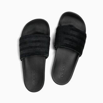 ADIDAS アディダスサンダルアディレッタ ADILETTE CLOUDFORM ULTRA EXP [AQ2104 CBLACK/CBLACK/CBLACK] アディダスアディレッタクラウドフォームウルトラエクスプローラーブラック black men gap Dis slippers BENASSI ベナッシ