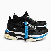ブランドブラックメンズスニーカーサガBRANDBLACKSAGA[BLACKBLUE426BB-BKBL]黒青ブラックブルー靴ダッドスニーカー