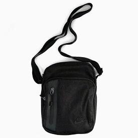 【全品クーポン対象】ナイキ ミニショルダーポーチ NIKE NSW CORE SMALL ITEM 3.0 BAG BLACK/BLACK/BLACK BA5268 010 コア スモールアイテム3.0 バッグ 黒 ブラック ロゴ 3L スウッシュ ポーチ ショルダーバッグ