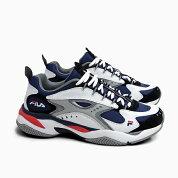 フィラメンズスニーカーFILABOVEASORUS[F50710576FILANAVY/WHITE/GREY]ボバザラスネイビー紺白ホワイトロゴ靴ダッドスニーカー新作902019春夏
