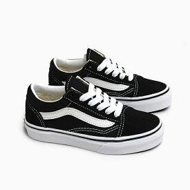【全品クーポン対象】バンズ オールドスクール キッズ VANS OLD SKOOL K [BLACK/WHITE VN000W9T6BT]USA企画 ブラック 黒 スエード キャンバス スニーカー KIDS SHOES OLDSKOOL 子供靴