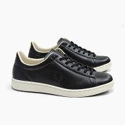 FREDPERRYフレッドペリーメンズスニーカー2020春夏新作BREAUX[F2964907BLACK]ブローMEN'Sブラック黒レザーローカット革シューズフットウェアSNEAKERSHOESフレッド・ペリー靴