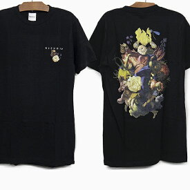 【全品クーポン対象】RIPNDIP リップンディップ Tシャツ HEAVINLY BODIES S/S TEE[BLACK] メンズ レディース RIP N DIP ブラック 黒 半袖 ティーシャツ コットン プリント スケートボード ストリート 猫 RIPNDIP