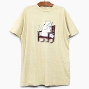 RIPNDIPリップンディップTシャツ半袖TAKEOUTSHORTSLEEVETEE[TAN]メンズレディースRIPNDIPロンTプリントTシャツタンベージュスケートボードストリートブランド猫