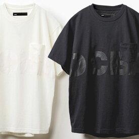 【40%OFF】DCBA LOGO POCKET SS TEE [5126J079] DC メンズ Tシャツ 黒/白 BY 20SS 新作