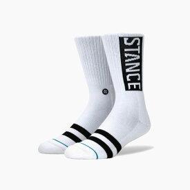 STANCE SOCKS スタンスソックス OG WHITE スタンス ソックス MEN'S 新作 メンズ 靴下