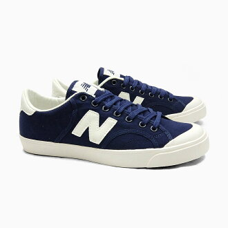 NEW BALANCE new balance PRO COURT NAVY PROCTSAC Pro coated canvas Navy white mens Womens sneakers