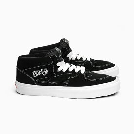 VANS バンズ ハーフキャブ USA企画 レディース 黒 HALF CAB BLACK/WHITE VN000DZ3BLK VN-0DZ3BLK スニーカー HALFCAB LADY'S SNEAKER SKATE SHOES 靴 SHOP