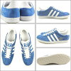 adidas adidas GAZELLE OG Gazelle original air force blue / white / metallic gold G16183