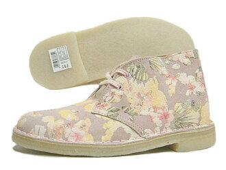Clarks kulaki DESERT BOOT desert boots is floral
