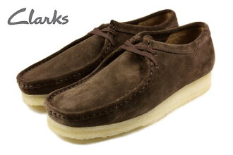 Clarks Clarks WALLABEE Wallaby dark brown suede 336 E-DBRS
