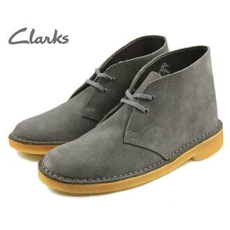 [D]克拉克Clarks DESERT BOOT甜点长筒靴深灰色653F-DYSS[S][sneaker-soko]