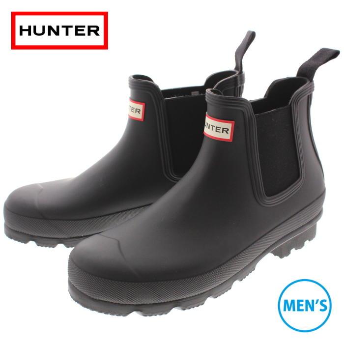 定番 ハンター HUNTER ブーツ メンズ オリジナル チェルシー MENS ORIGINAL CHELSEA ブラック MFS9075RMA-BLK 【FMOM】
