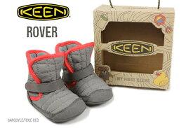 子供 キーン KEEN Rover ローバー ガーゴイル/トゥルーレッド 1011821