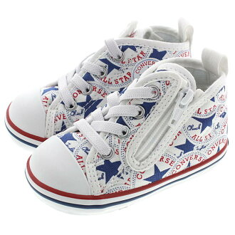 Child Converse CONVERSE sneakers baby all-stars N メニーパッチ Z white 7CL340
