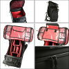 PACK CHROME chrome NIKO Niko Pack black / red BG153-BKRD
