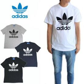 [期間限定10%OFFクーポン配布中]【ラス1 Oサイズ】アディダス adidas オリジナルス トレフォイル Tシャツ ORIG TREFOIL TEE ホワイト(AJ8828) ブラック(AJ8830) レジェンドインク(BQ7940) ミディアムグレーヘザー(BK7466) [WA]【FLOM】