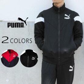 プーマ PUMA ジャージ MCS トラックジャケット 577607 ピーコート(06) プーマブラック(01) [WA]【FMOL】