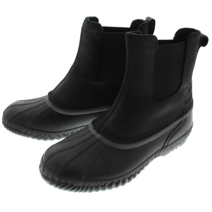 ソレル SOREL ブーツ シャイアン 2 チェルシー CHEYANNE 2 CHELSEA ブラック/ダークグレー NM2609-010 【FMFO】