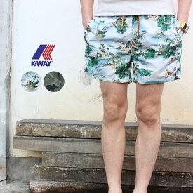 ケーウェイ K-WAY スイムショーツ HAZEL GRAPHIC K008960 ハワイランドスケープ(A09) カモリーフグリーン(A12)[WA]【FNOI】