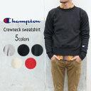 定番 チャンピオン Champion ウェア リバースウィーブ クルーネック スウェットシャツ C5-U001 オックスフォードグレー(070) ブラック(…