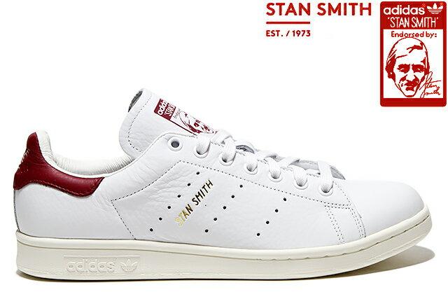 adidas Originals STAN SMITH CQ2195 WHITE/BURGUNDYアディダス オリジナルス スタンスミス ホワイト バーガンディー メンズ レディース スニーカー 定番