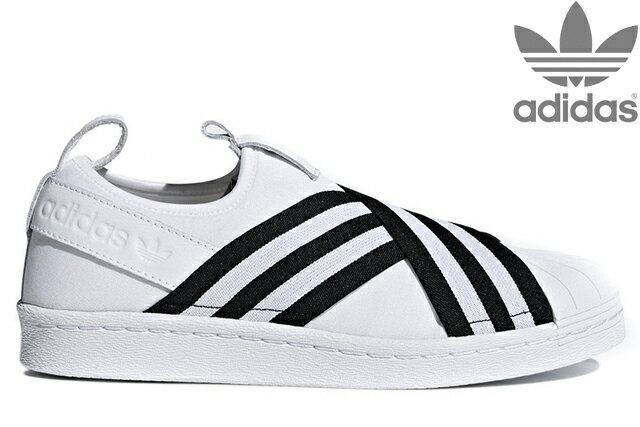 adidas Originals SUPERSTAR SLIPON W AC8581 RUNNING WHITE/RUNNING WHITE/CORE BLACKアディダス オリジナルス スーパースタースリッポン W ホワイト ウイメンズ レディース スニーカー 定番