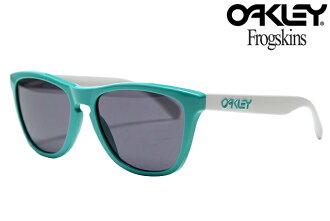文物收藏优惠券没有资格获得 OAKLEY FROGSKINS 太阳镜 24 417 SEAFORM/灰色 Oakley 青蛙皮肤限量版遗产集合太阳镜海泡石灰色