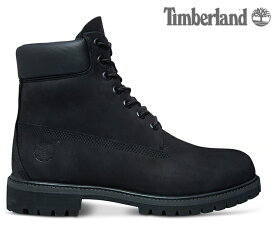 TIMBERLAND 6 INCH PREMIUM WATERPROOF BOOT BLACK 10073ティンバーランド 6インチ プレミアム ブーツ ブラック メンズ ブーツ 定番