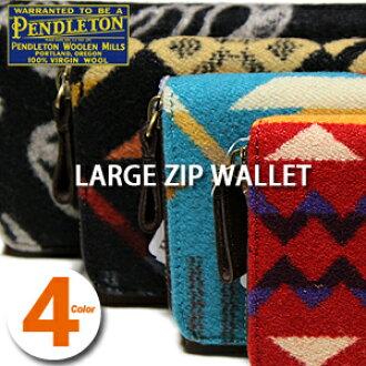 彭德尔顿大拉链钱包 XZ751 · 彭德尔顿大拉链钱包绿松石黑色的猩红色红色钱包本机呼啸而过