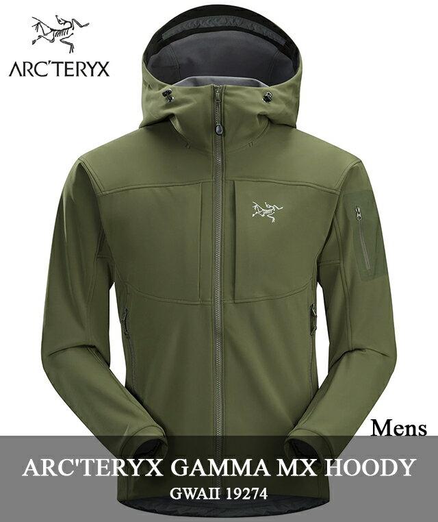 2018 F/W ARC'TERYX 「GAMMA MX HOODY」 19274 GWAIIアークテリクス ガンマ MX フーディ グワイ グリーン arcteryx メンズ キャンプ 登山 アウトドア マウンテンパーカー
