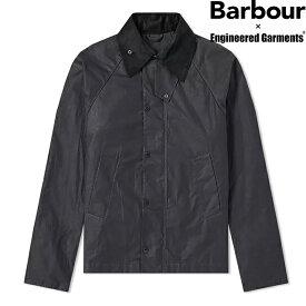 「BARBOUR X ENGINEERED GARMENTS」 GRAHAM WAX JACKET MWX1436BK11 BLACKバブアー × エンジニアード ガーメンツ グラハム ワックス ジャケット ブラック 限定 メンズ バーブァー コラボ
