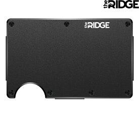 the RIDGE 「Money Clip」 Aluminum - Blackザ リッジ マネークリップ アルミニウム ブラック 財布 カードケース ID パスケース 定期入れ USA