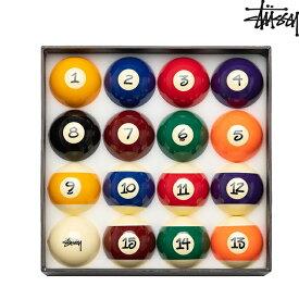STUSSY BILLIARD BALLS SET 「JAPER BEES」ステューシー ビリヤード ボールセット